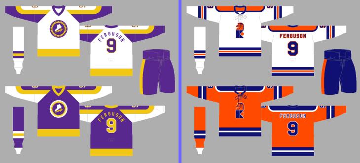 New York New Jersey Knights New York Golden Blades/jersey
