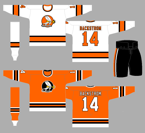 1975-76 Denver Spurs Ottawa Civics - The WHA Uniform Database 30618805d52